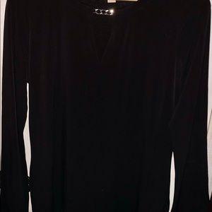 Michael Kors blouse shirt size large NWOT